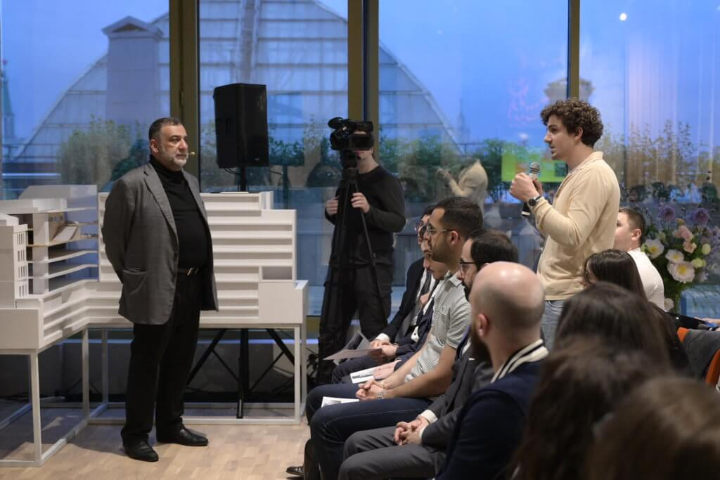 Ռուբեն Վարդանյանի, Արթուր Ալավերդյանի և Դավիթ Թավադյանի հետ հանդիպումը Noôdome փորձարարական տիրույթում