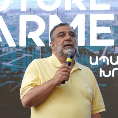 Ruben Vardanyan's meeting with the youth. Armenia TV, June 10, 2021 (in Armenian)