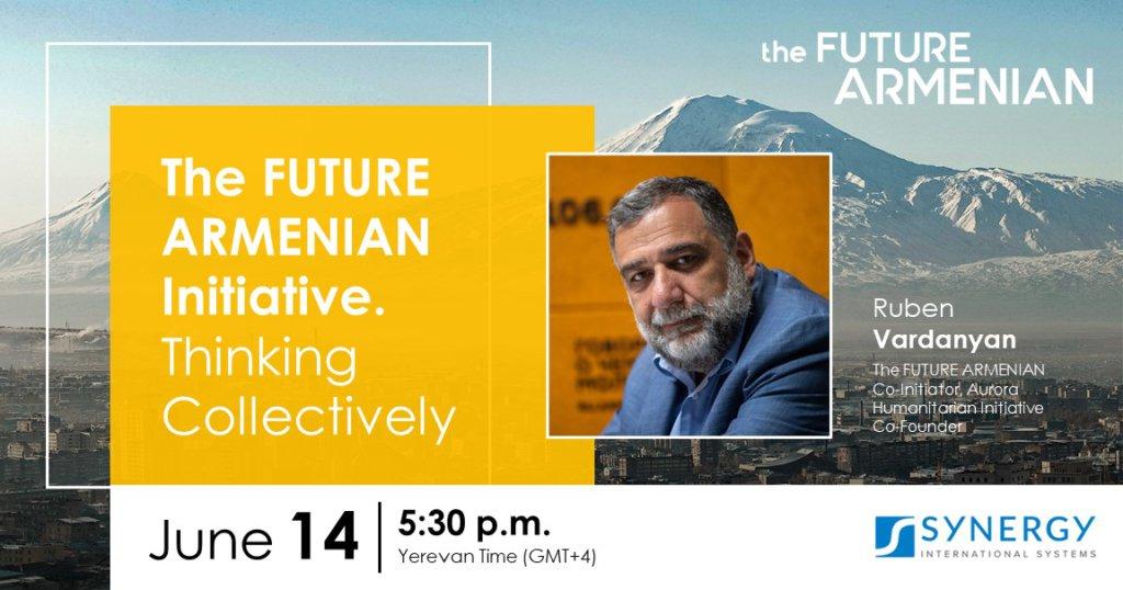 Discussion avec Ruben Vardanyan à Synergy