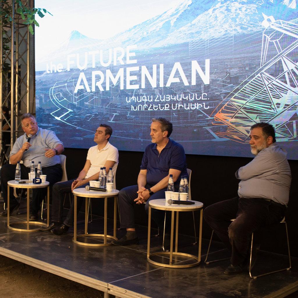 Դառնալ ապագայի բաժնետեր․15 լուրջ նպատակ՝ հայտնի հայ գործարարների ջանքերով վաղն այսօր ստեղծելու համար: Հայաստանի «Հանրային» ռադիո, հուլիսի 26, 2021 թ (hայերեն)