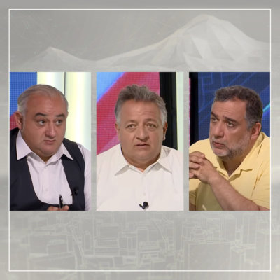 Интервью Нубара Афеяна и Рубена Варданяна Общественной телекомпании Армении. 23 июля 2021 (на армянском)