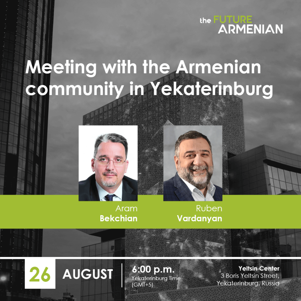 Meeting with the Armenian community in Yekaterinburg