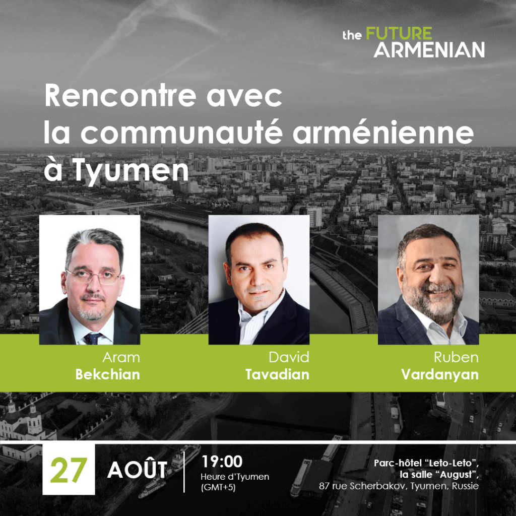 Rencontre avec la communauté arménienne à Tyumen