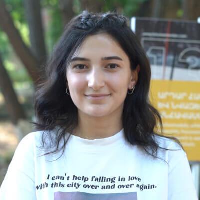 Diana Pirumyan (Armenia). Why I joined The FUTURE ARMENIAN (video)