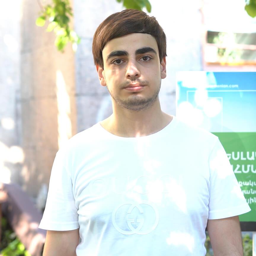 Armen Hakobyan (Armenia). Why I joined The FUTURE ARMENIAN (video)