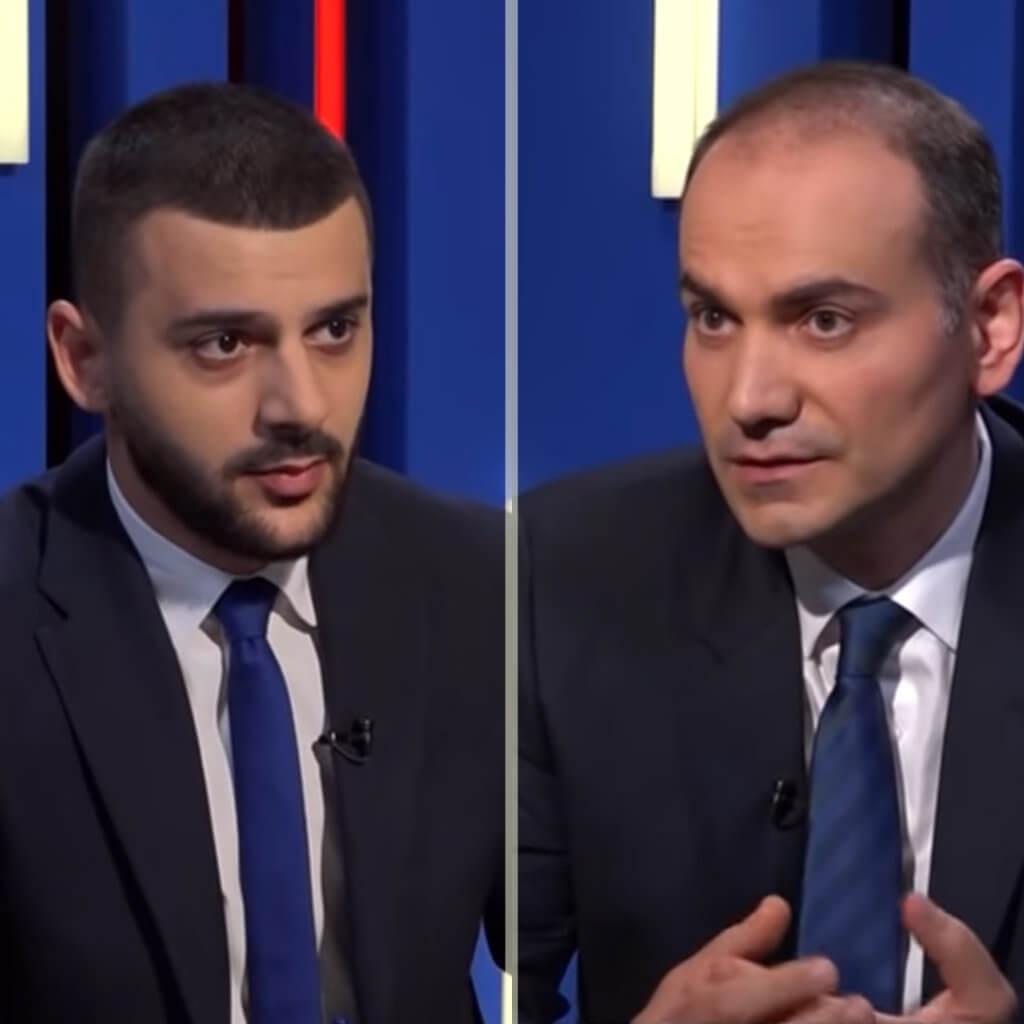 Интервью Давида Тавадяна Общественной телекомпании Армении. 27 сентября 2021 г. (на армянском)