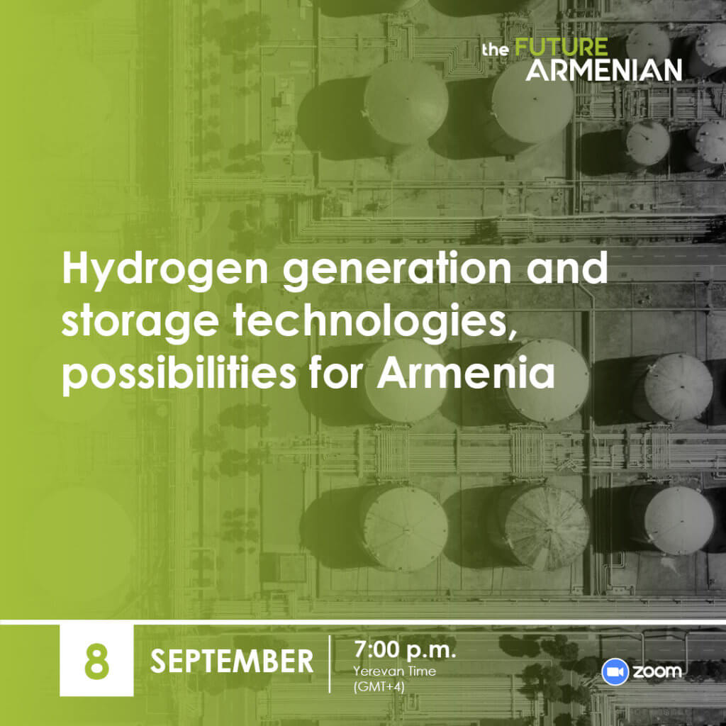 Hydrogen generation and storage technologies, possibilities for Armenia (Goal 2)
