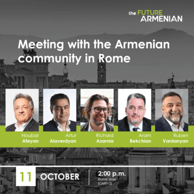 Meeting with the Armenian community in Rome